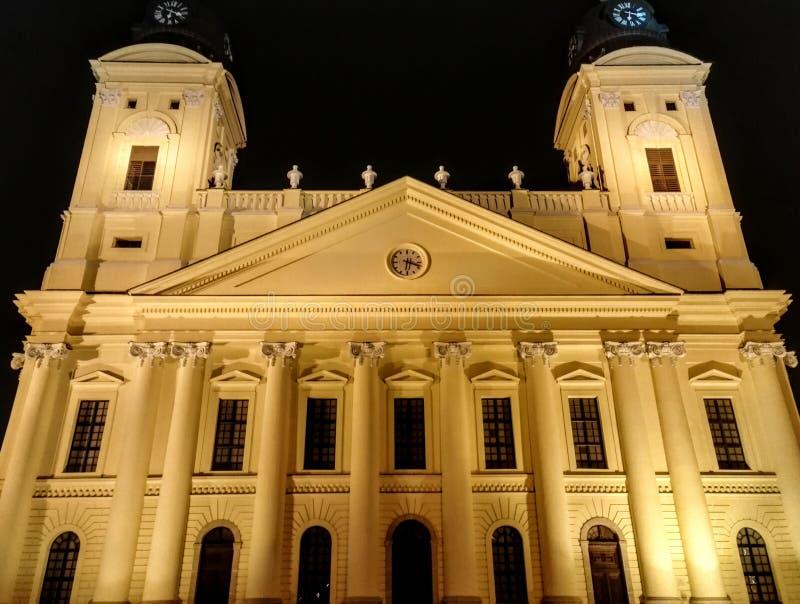 Duży kościół obrazy royalty free