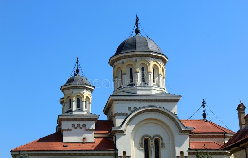 Duży kościół fotografia stock
