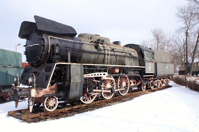 duży lokomotywa obraz royalty free