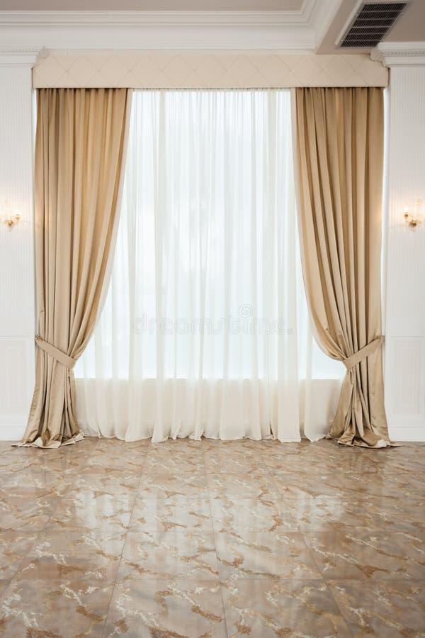 Duży okno zdjęcia royalty free