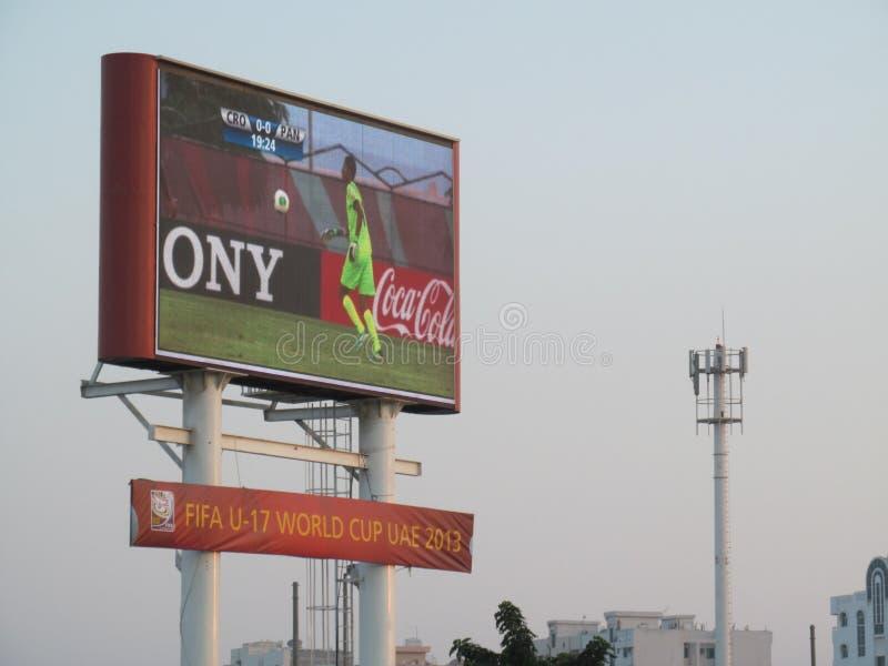 Duży Parawanowy futbol obraz royalty free