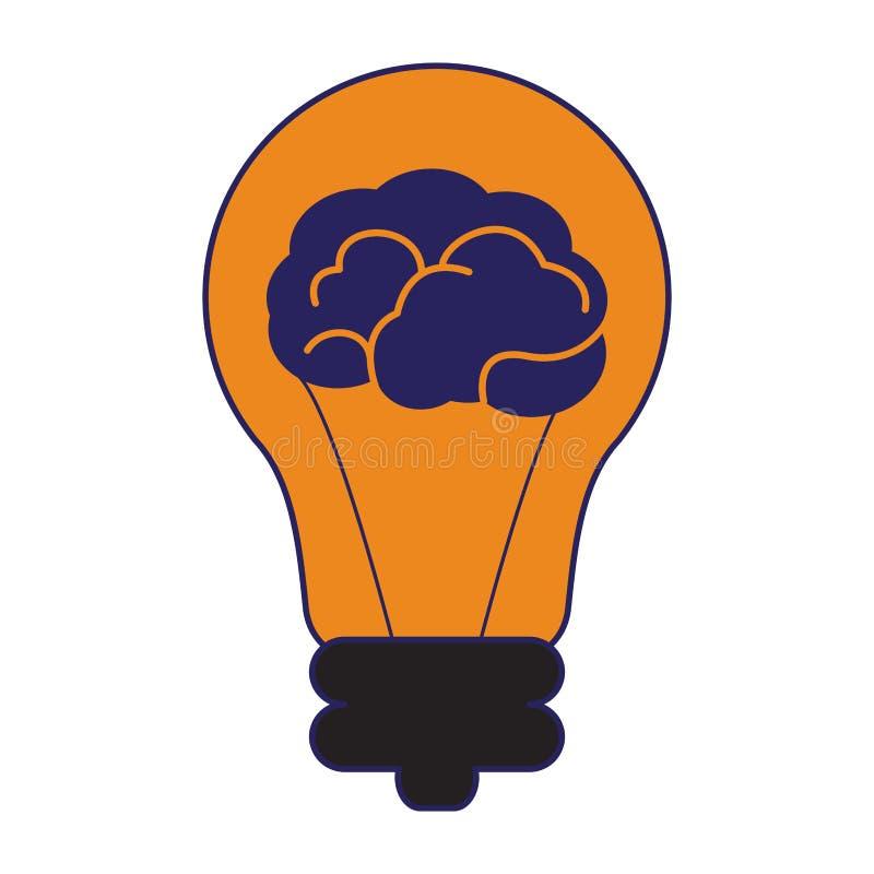 Duży pomysłu symbol ilustracji
