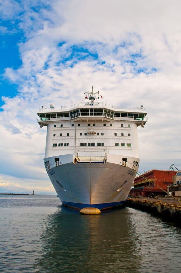 Duży promu statek Stena linia zdjęcia stock