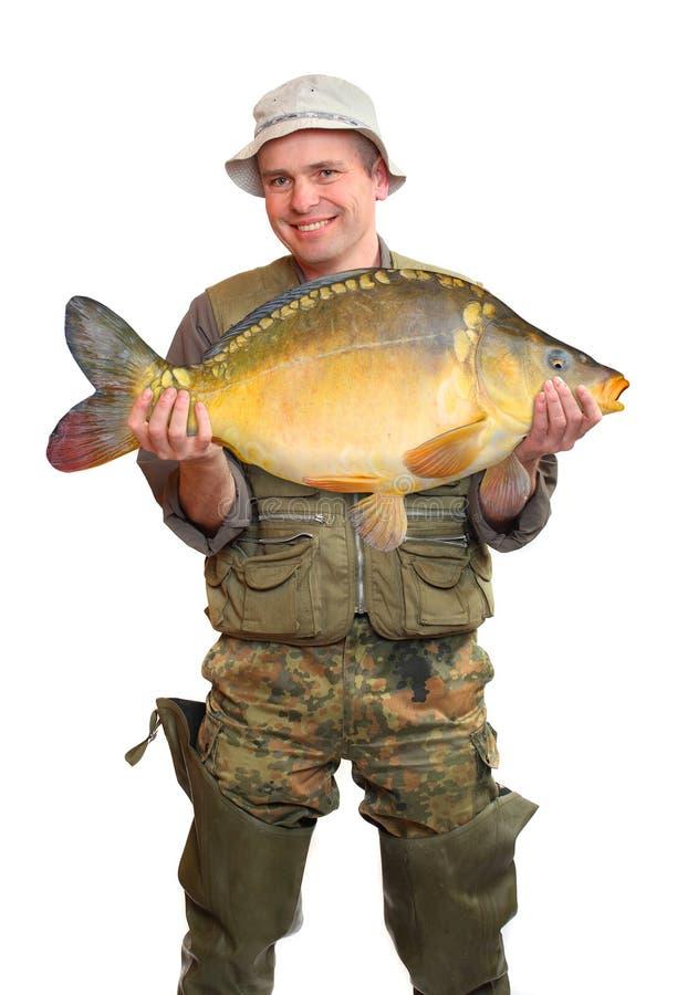 duży rybi rybak zdjęcie royalty free