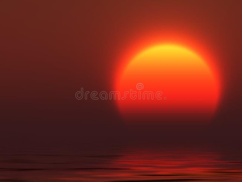 duży słońce