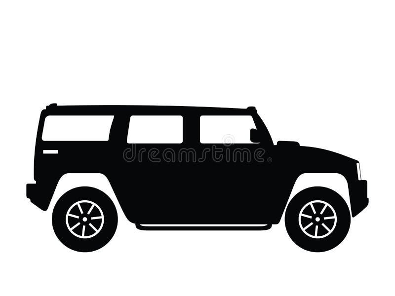 duży samochód wektora ilustracja wektor