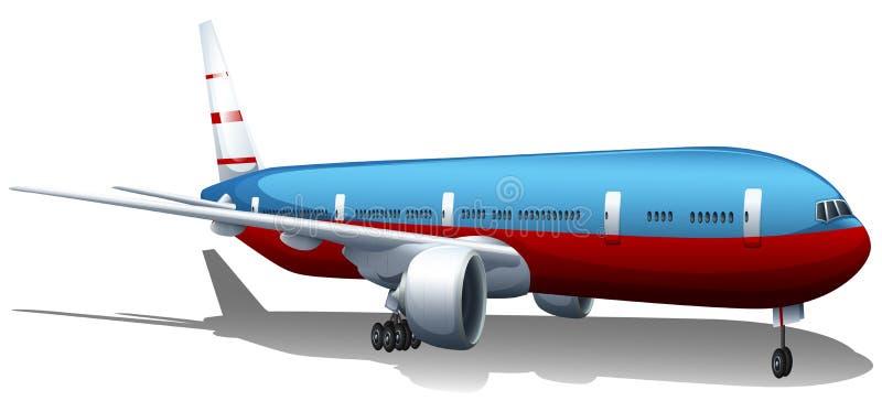 Duży samolot royalty ilustracja