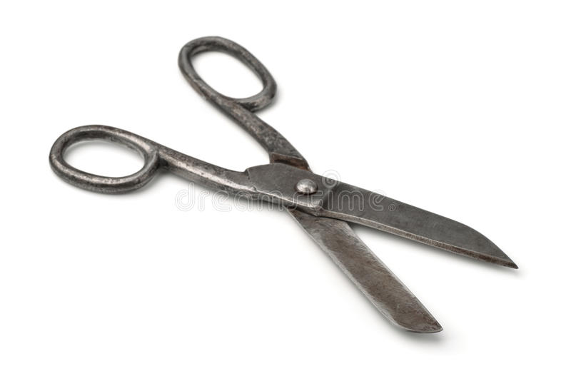 duży starzy nożyce obrazy stock