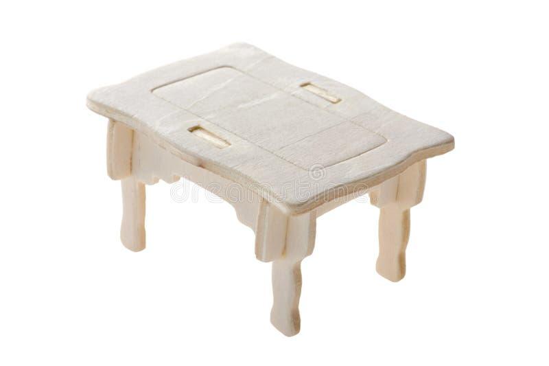 duży stołu zabawki drewno zdjęcia stock