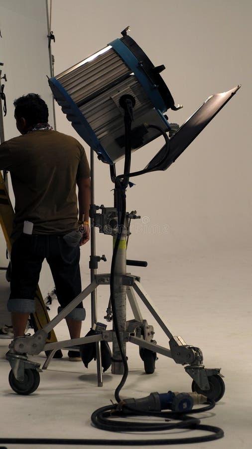 Duży studio zaświeca dla wideo filmu lub filmu produkci zdjęcia royalty free