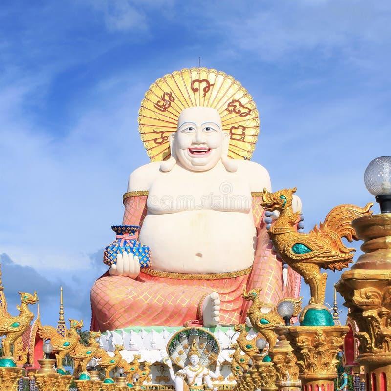 Duży szczęśliwy Buddha obraz royalty free