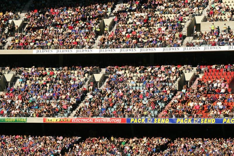 duży tłum, zdjęcia royalty free