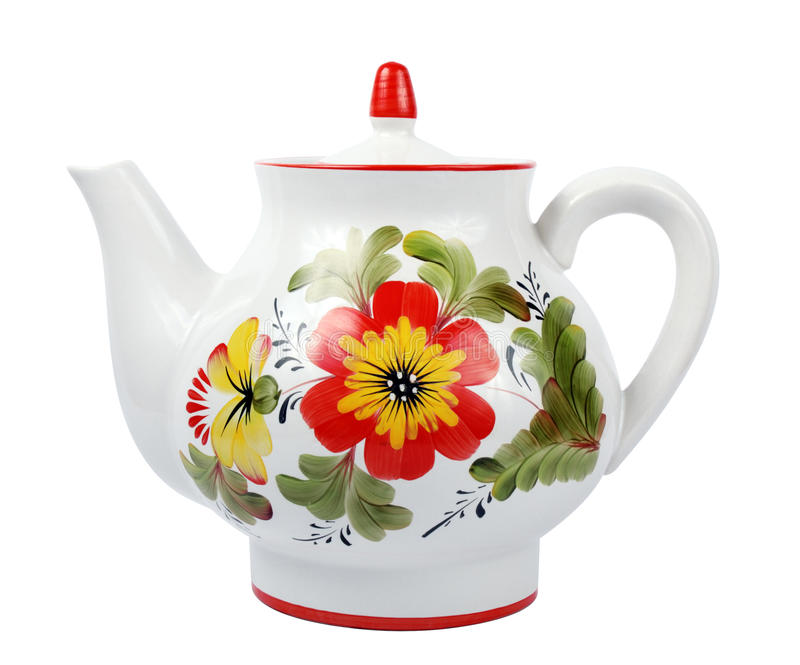 duży teapot obraz royalty free
