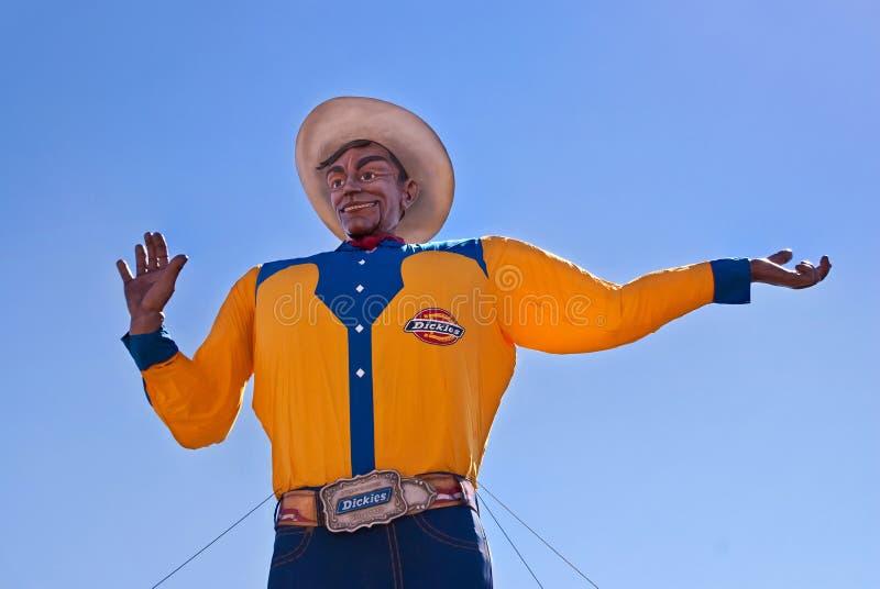 Duży Tex przy Teksas Stan Jarmarkiem zdjęcie stock