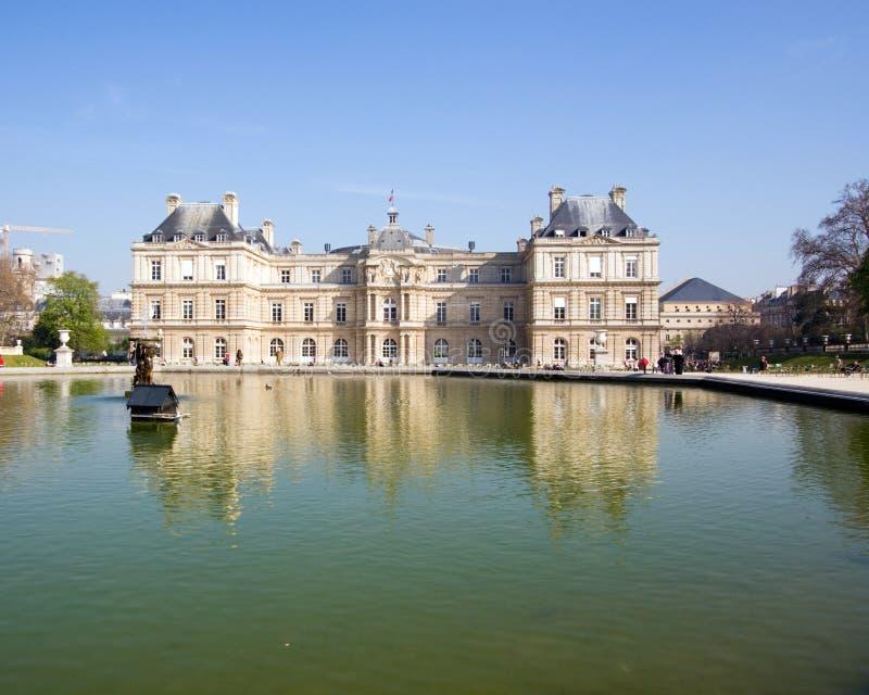 du卢森堡palais 免版税库存图片
