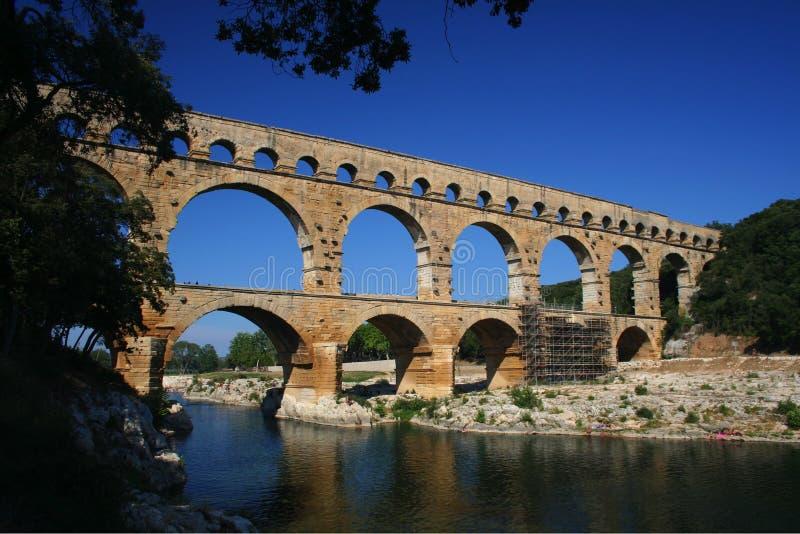 du Γαλλία Gard pont στοκ εικόνες