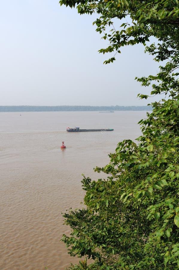 Du côté du fleuve Yangtze image libre de droits