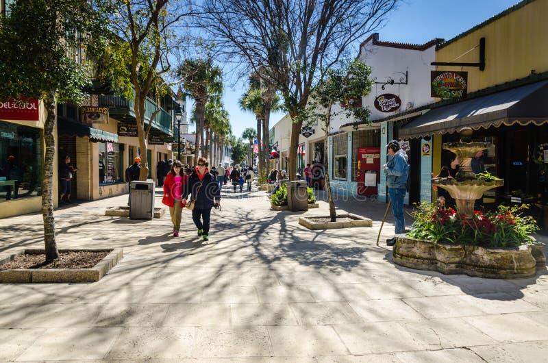 Du centre - St Augustine, la Floride image libre de droits