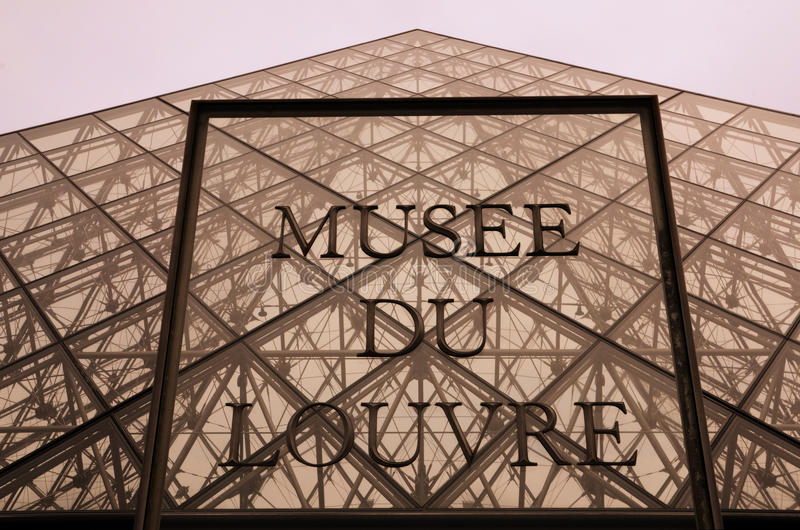 du France louvre musee Paris zdjęcia stock