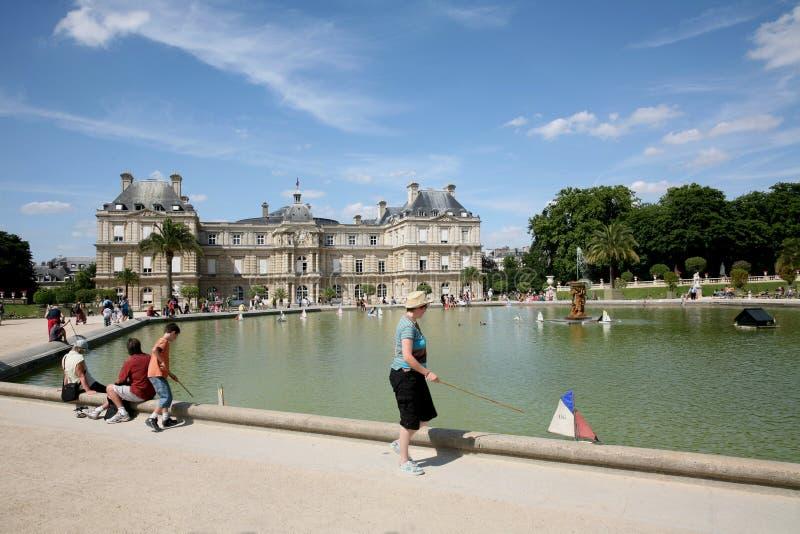 du jardin Λουξεμβούργο Παρίσι στοκ φωτογραφίες