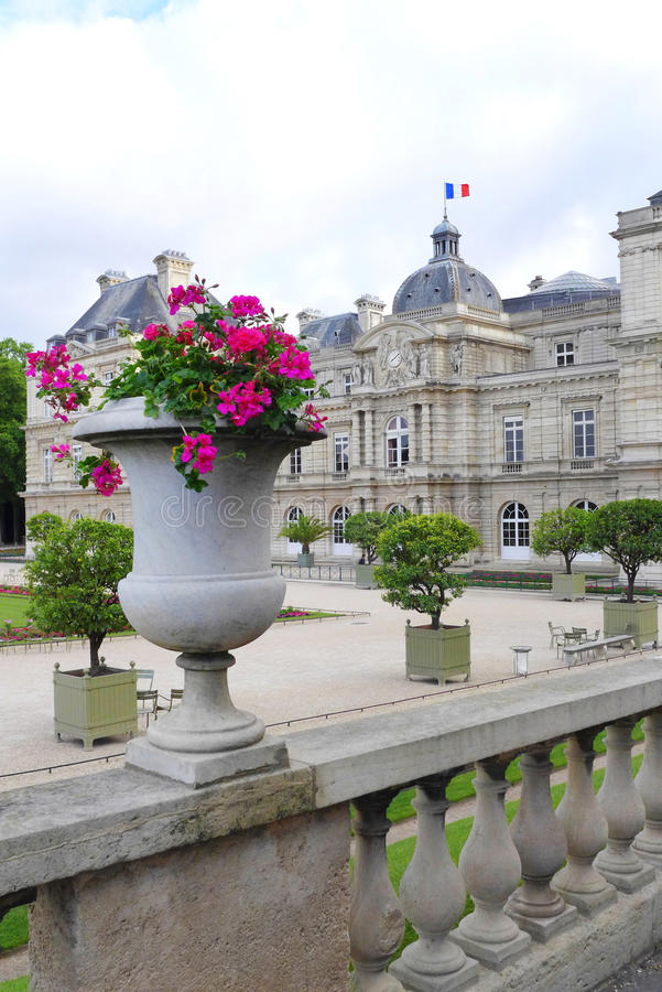 du jardin Λουξεμβούργο Παρίσι στοκ φωτογραφία με δικαίωμα ελεύθερης χρήσης