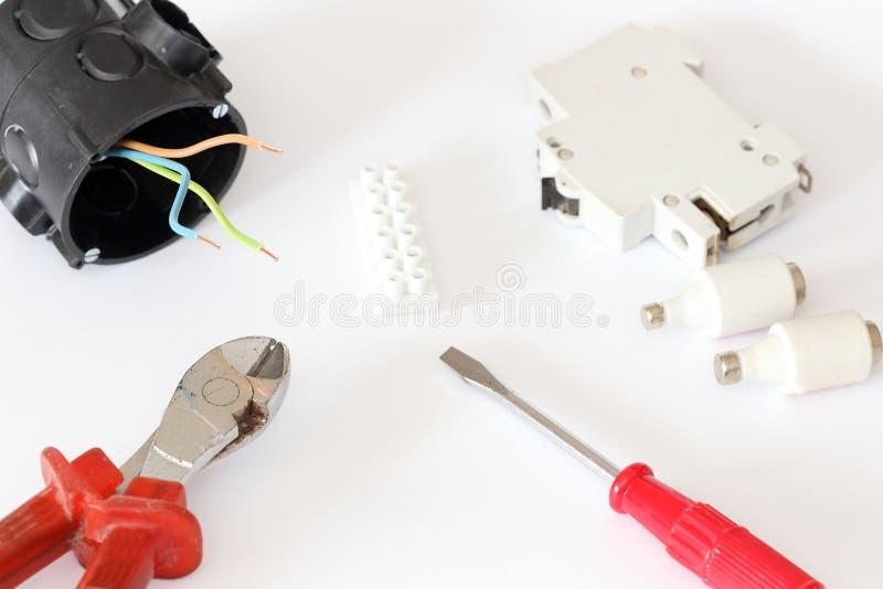 Du matériel électrique photos libres de droits