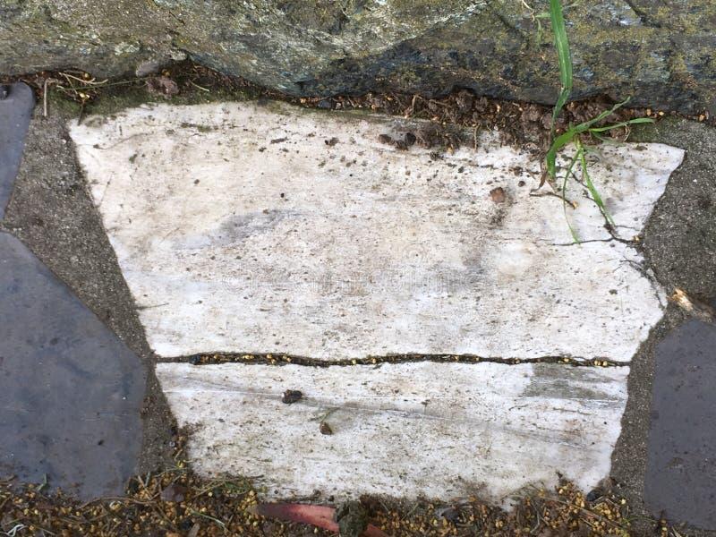 Du pavé topiaire de pierre tombale de cimetière, 4 image stock