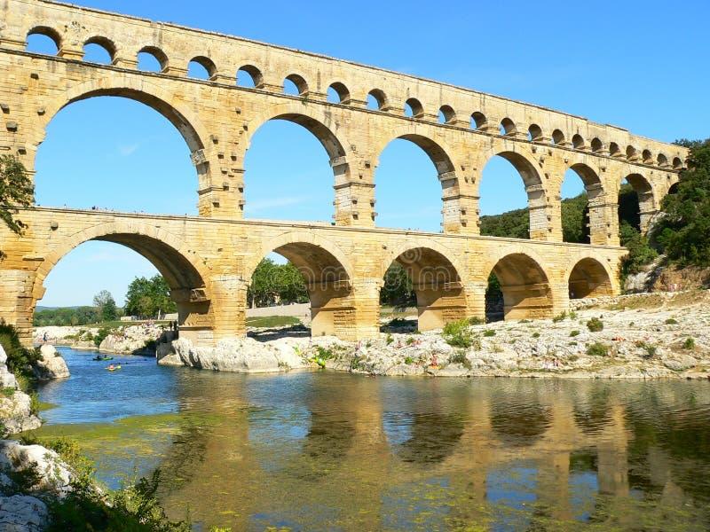 du pont France Gard zdjęcie stock