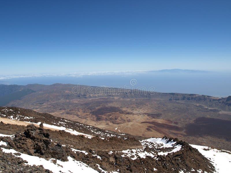 Du vulcano de Teide image stock