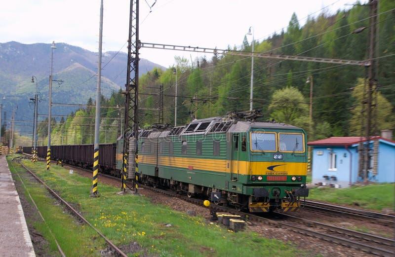 Dual Electric DC Diesel Locomotive stock images
