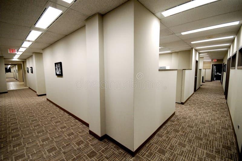Download Dual Hallways stock image. Image of doors, corner, long - 372937