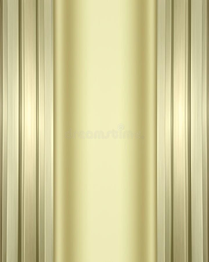Dual metallic background royalty free stock photo