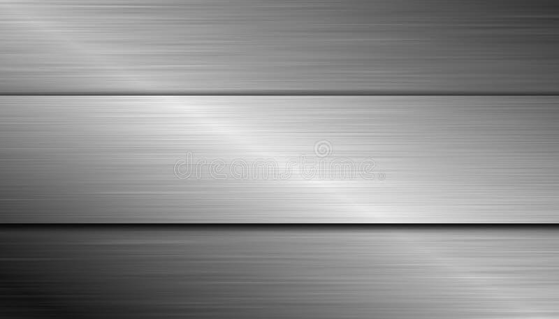 Dual Stålbakgrund Arkivbilder