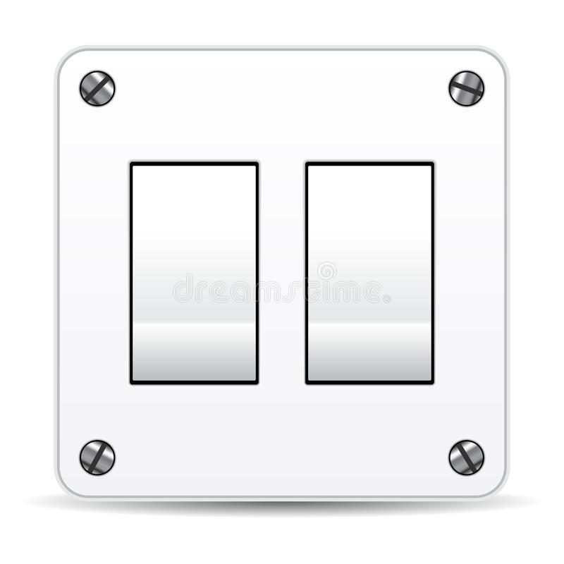 Download Dual Switch Royalty Free Stock Images - Image: 21239449