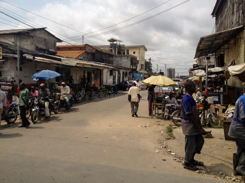 Duala, el Camerún imagen de archivo