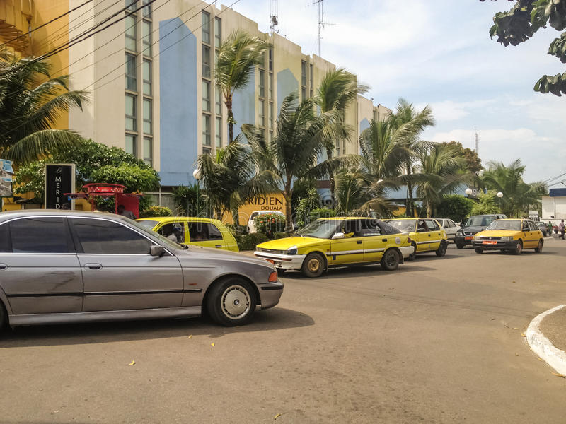 Duala, el Camerún imagenes de archivo