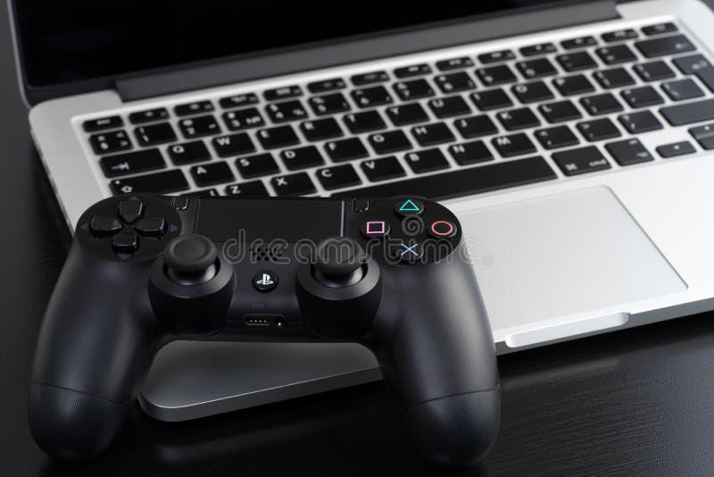 DualShock 4 zdjęcie stock