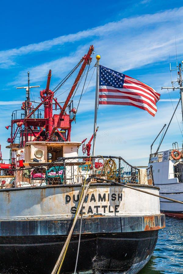 Duamish à Seattle photo libre de droits