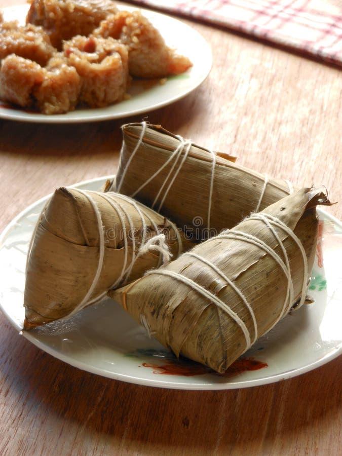 Duanwu-Festival ein Bündel Reismehlklöße lizenzfreies stockbild