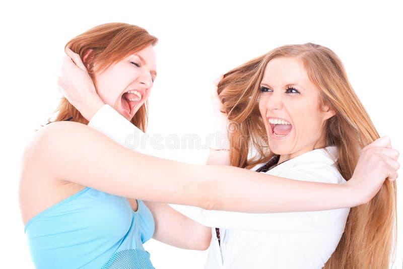 Duas amigas foto de stock