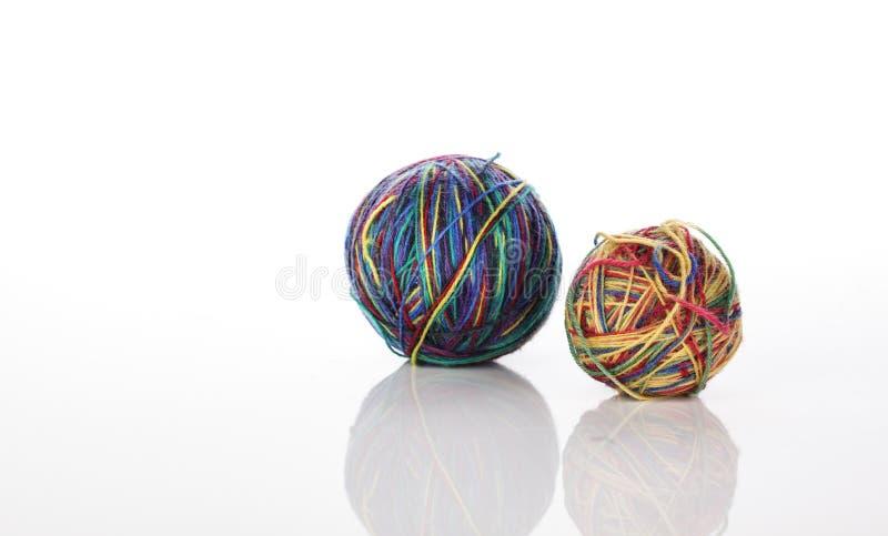 Download Bolas das lãs imagem de stock. Imagem de amarelo, colorido - 29846609