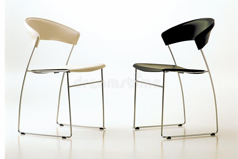 Duas cadeiras imagem de stock