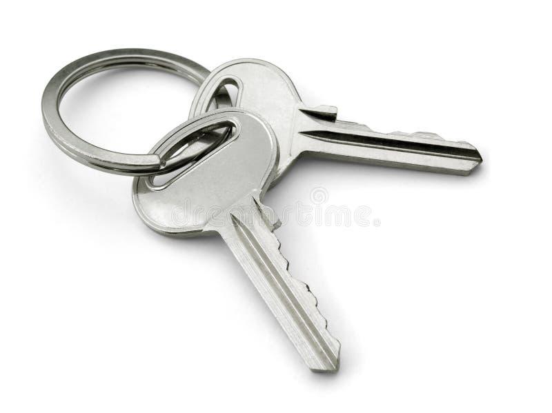 Duas chaves foto de stock