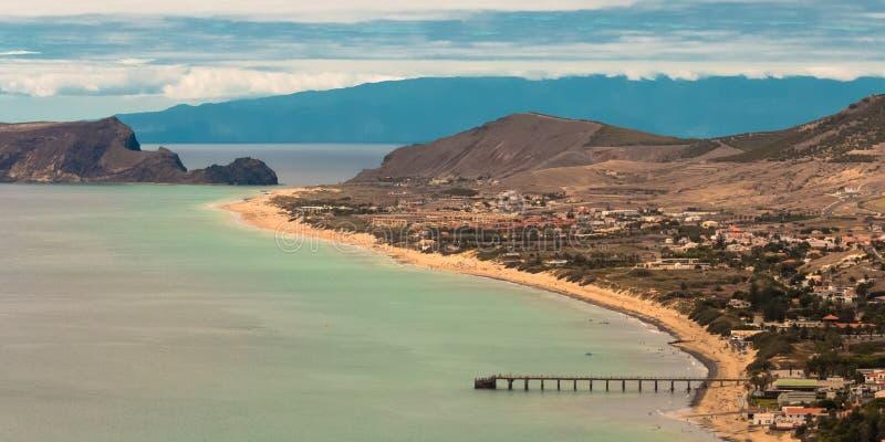 Duas ilhas, Porto Santo And Madeira foto de stock