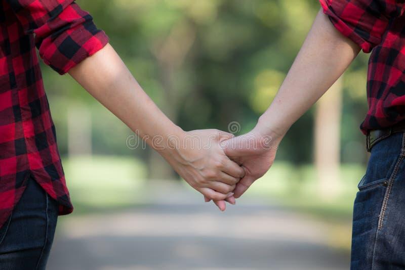 Duas mãos para sempre foto de stock royalty free