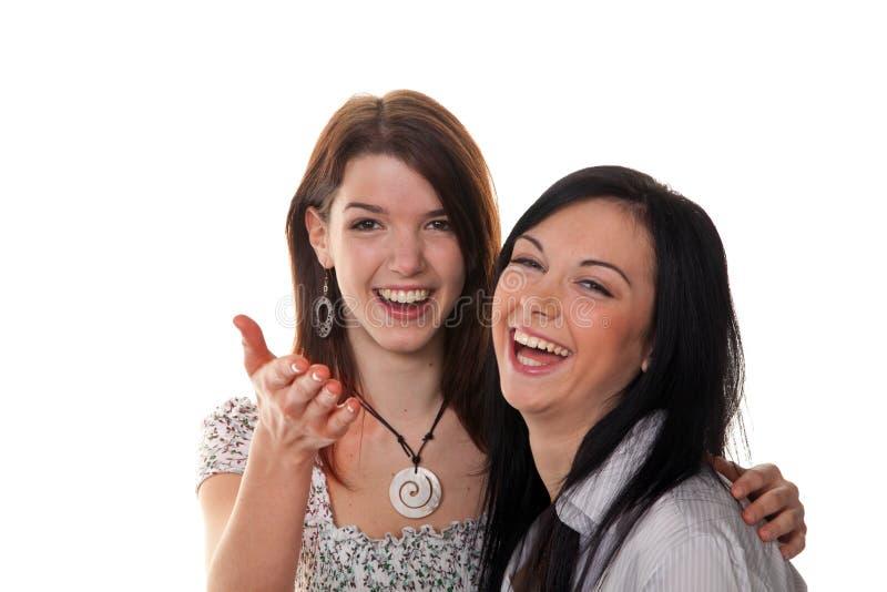 Duas mulheres novas imagem de stock royalty free