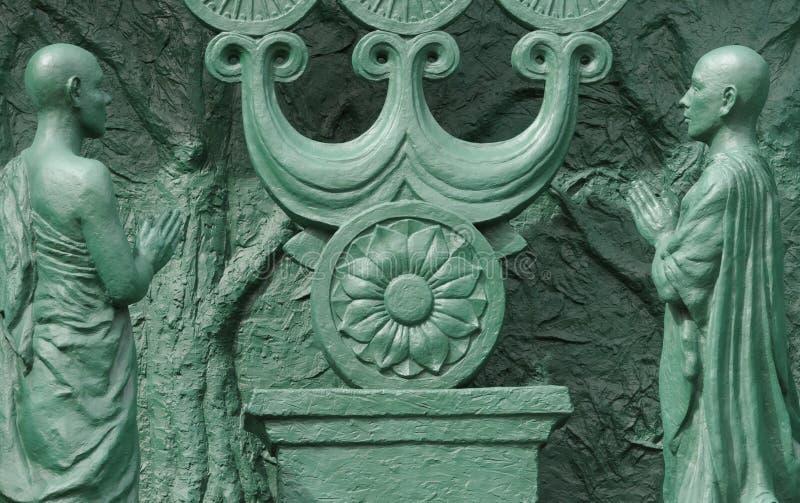 Download Duas Orações; Fragmento Da Estátua De Buddah; Japão Imagem de Stock - Imagem de humano, decorativo: 16862225