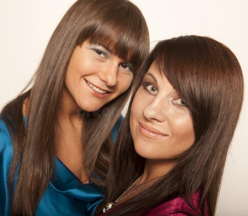 Duas raparigas 'sexy' imagem de stock royalty free
