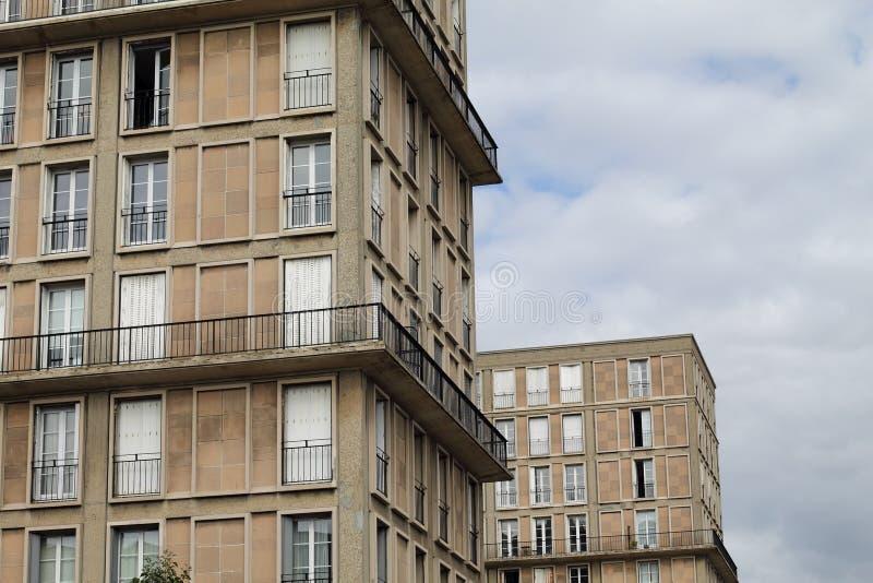 Duas torres fotografia de stock