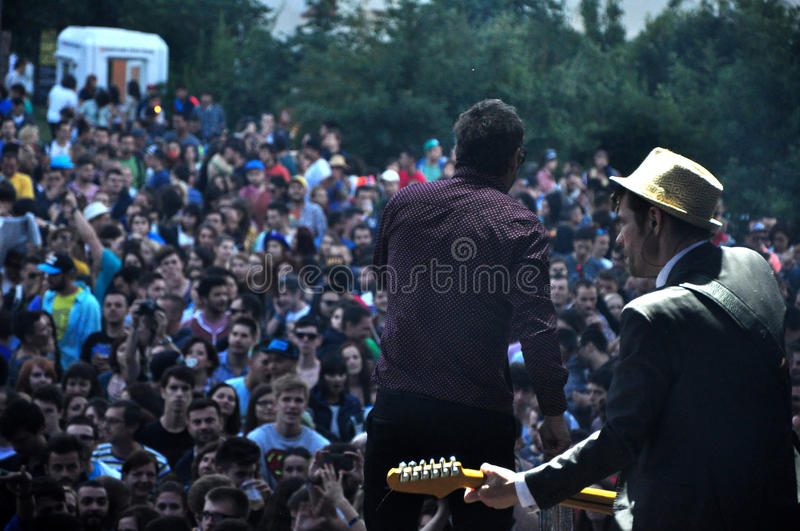 Download Dub Pistols Performs Live On The Stage Editorial Stock Image - Image: 41859419